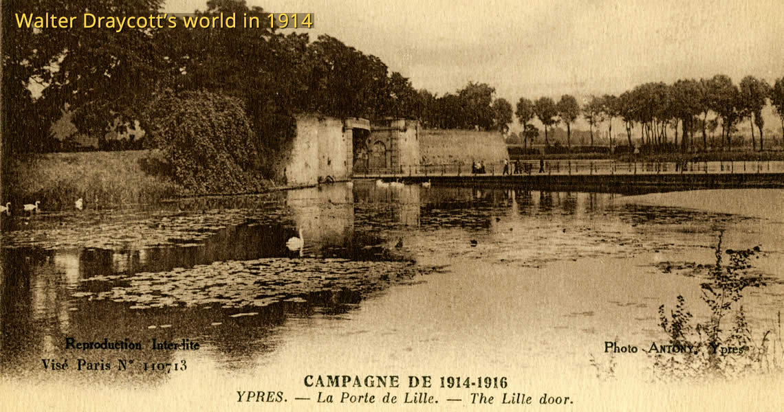 Postcard from Ypres, 1914