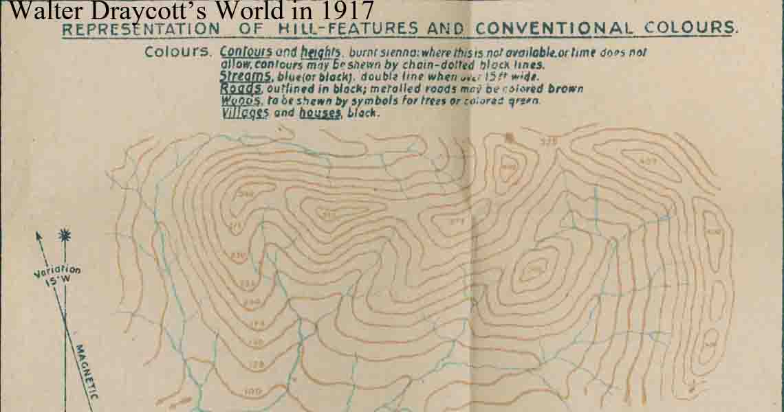 Page from Map Makers Manual 1917